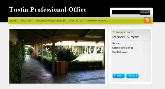 Tustin Professional Office Website Design